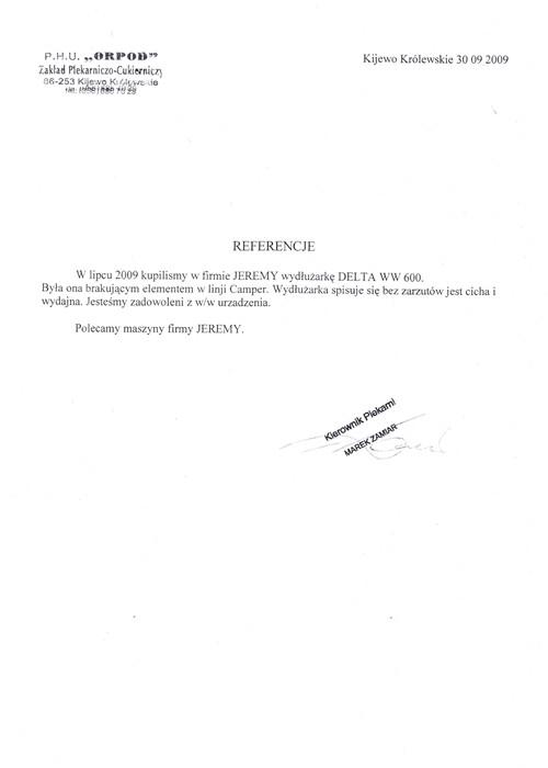 PHU ORPOD Zakład Piekarniczo-Cukierniczy